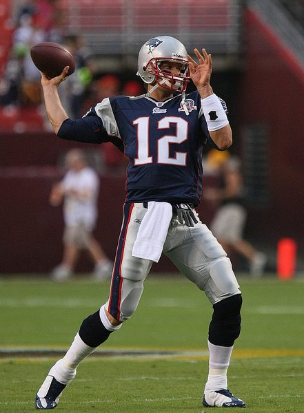 Tom Brady has lead the Patriots to 4 Superbowl titles in his career. Photo credit: Keith Allison