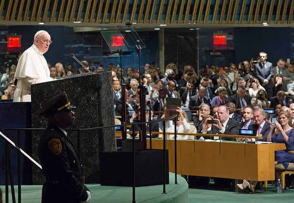 Should religious leaders have such a high profile role in international politics? Photo: United Nations Photo @Flickr