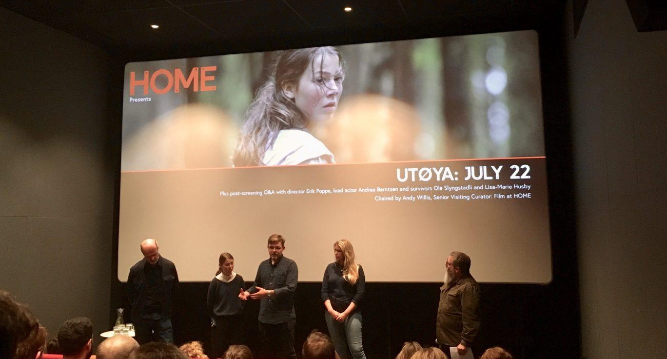 Utoya July 22 screening at HOME Photo: Rona McCann