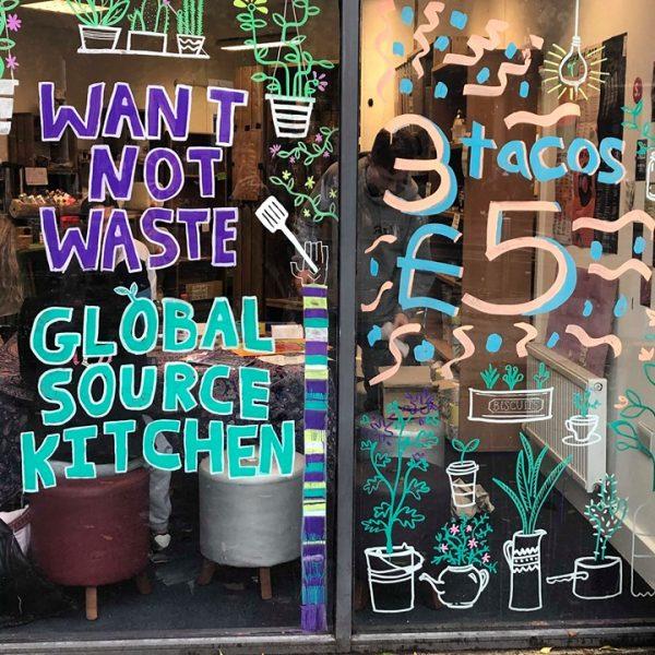 Want not Waste Sustainable photo: Georgina Davidson @ The Mancunion