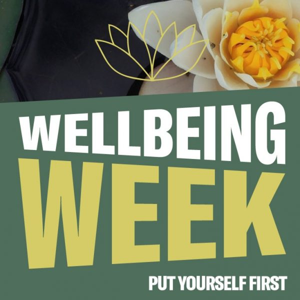 Wellbeing Week 2018 Photo: University of Manchester Students' Union
