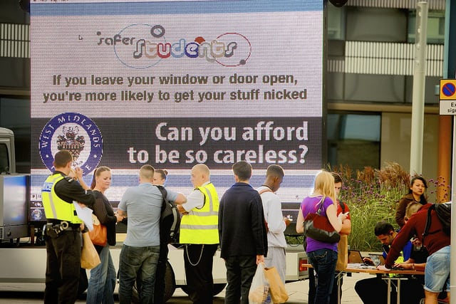 You don't say? Photo: West Midlands Police @Flickr