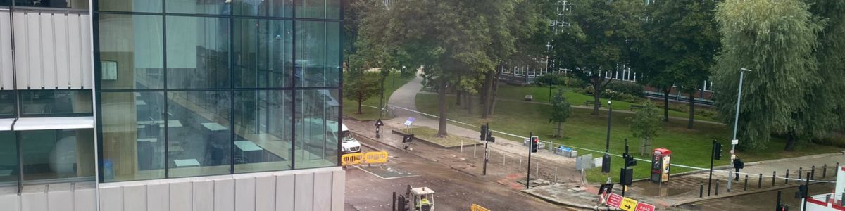 Breaking News: Oxford Road closed due to burst pipe