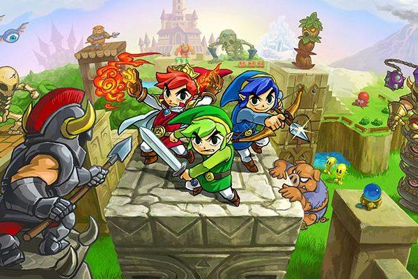 Triforce Heroes; Photo: Nintendo Co., Ltd.
