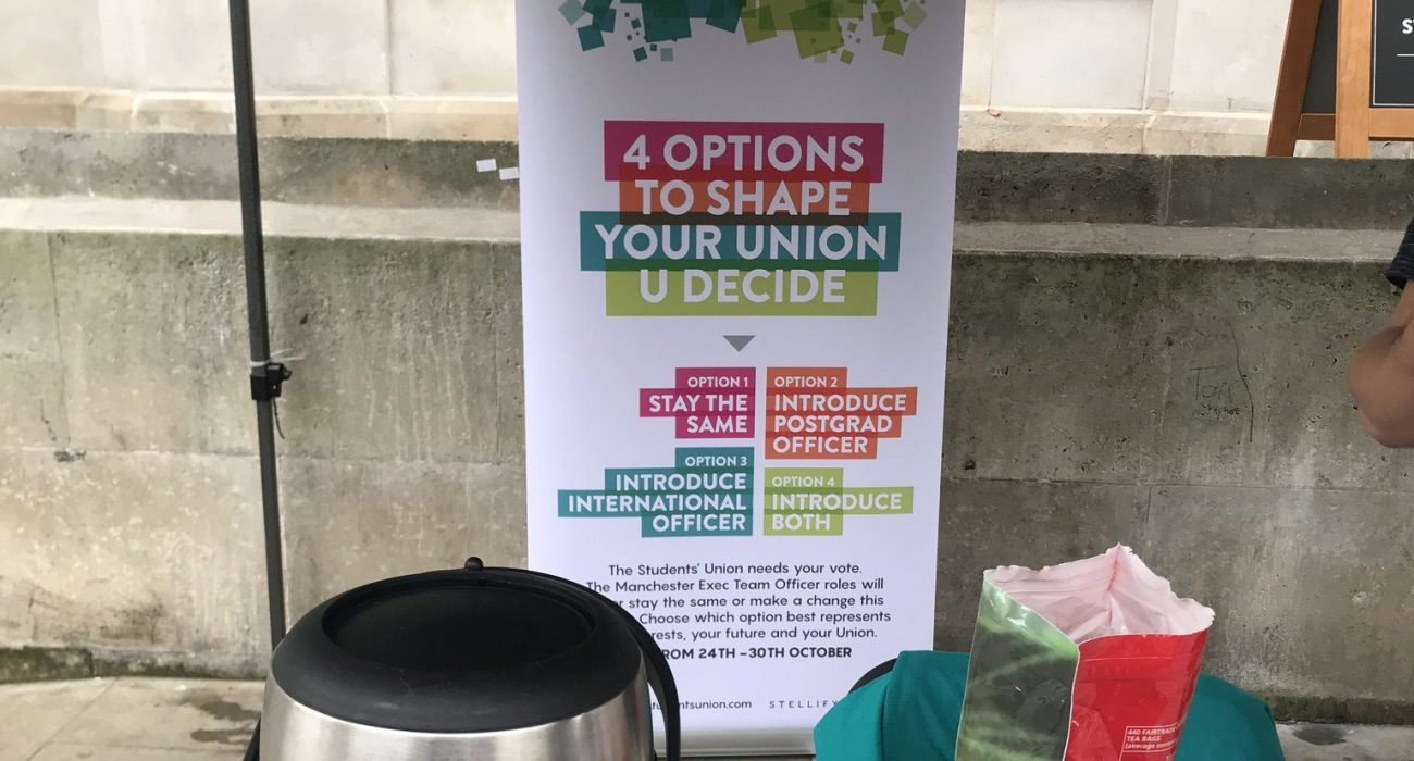 All Student Vote (Image: UoM Students' Union)