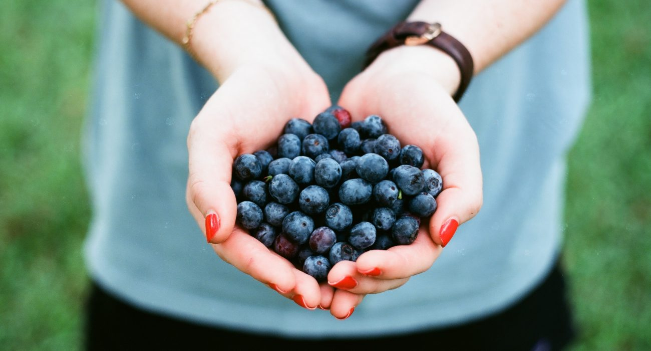 blueberries Photo: Andrew Welch @Unsplash