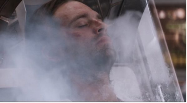 Bucky in cryo from Captain America Civil War
