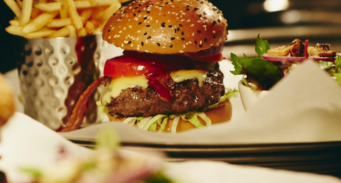 Photo: Burger and Lobster