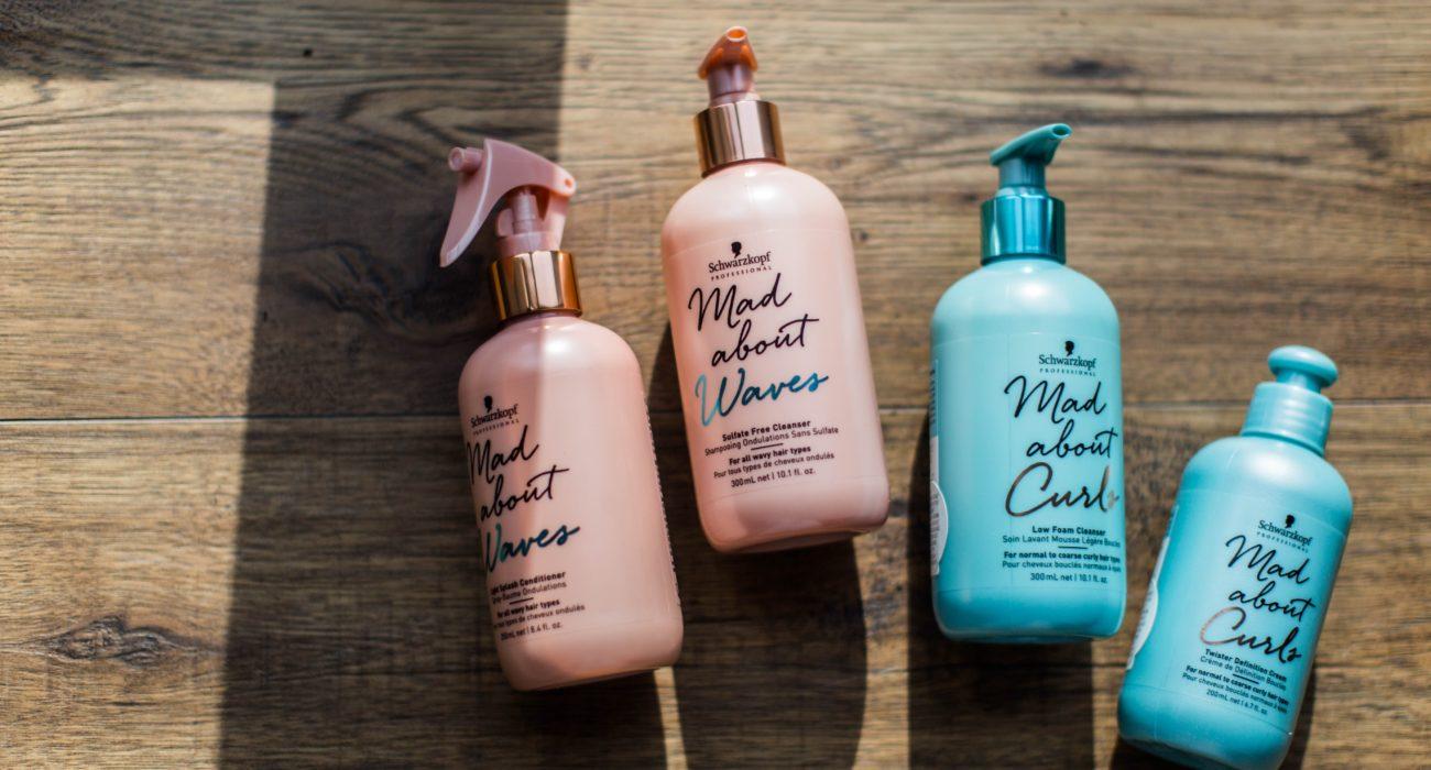 Sulphate free shampoo bottles