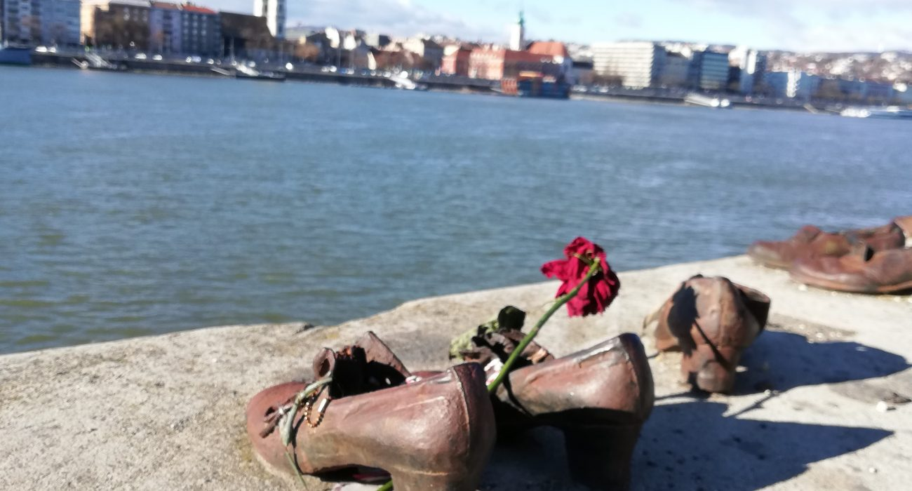 Photo: Shoes of the Danube, Bella Jewell