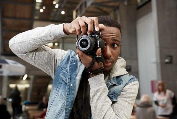 David Adesanya, creator of Behind Beijing. Photo: Behind Beijing