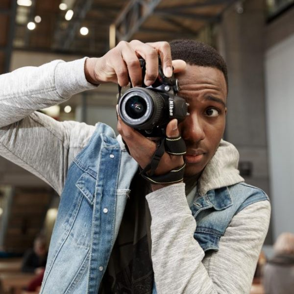 David Adesanya, creator of Behind Beijing. Photo: Behind Beijing