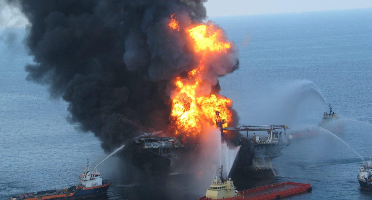 The 2009 Deepwater Horizon disaster. Photo: ideum @Flickr