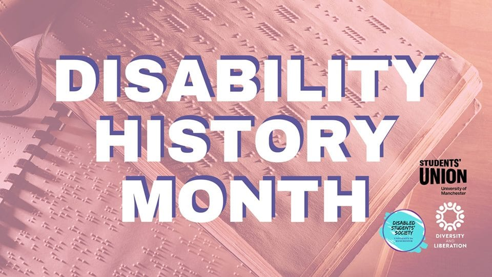 Disability History Month Photo: Disabled Students' Society