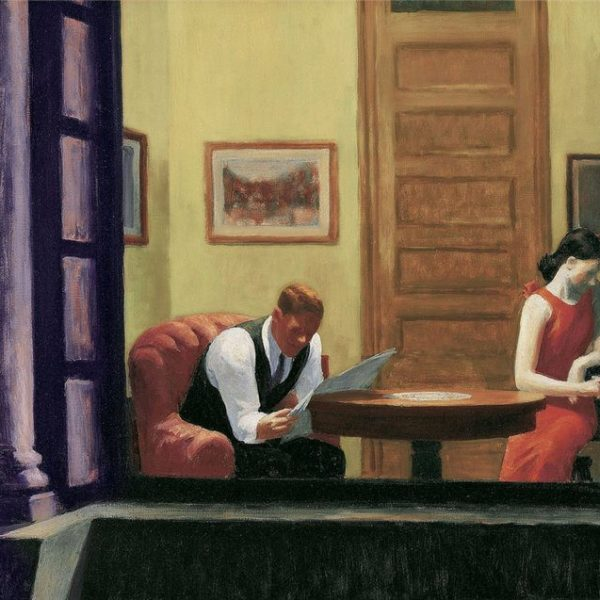'Room in New York' (1932) by Edward Hopper