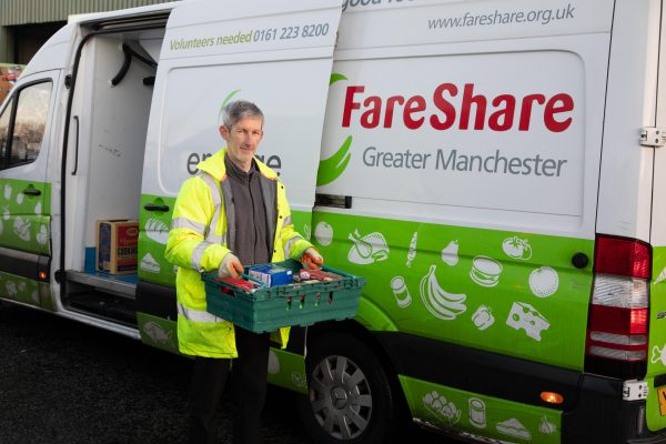 photo courtesy of Mark Hobbs at FareShare Greater Manchester