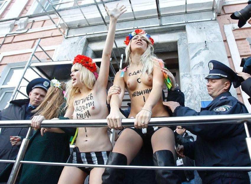 Femen Ukrainian Protest Group Based In Kiev Pornovideoshub 1