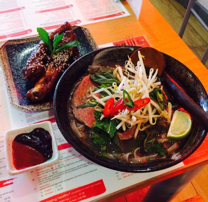 Vietnamese Pho & Peking Ribs. Photo: Fuzion Noodle Bar