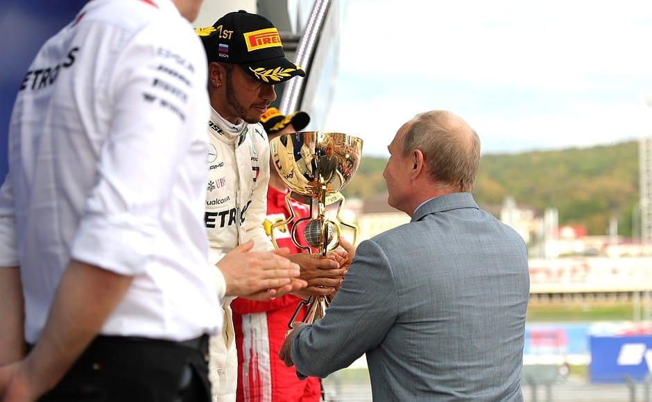 Formula 1 Russian Grand Prix @ President of Russia