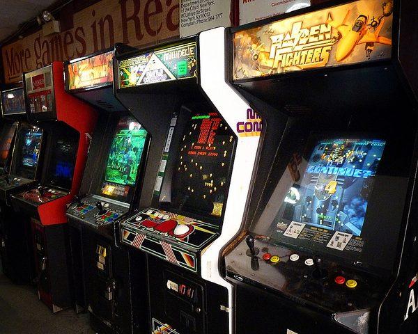 Gaming Arcade. Photo: Vivienne Gucwa @Flickr