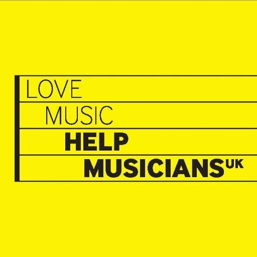 Photo: Twitter User @HelpMusiciansUK