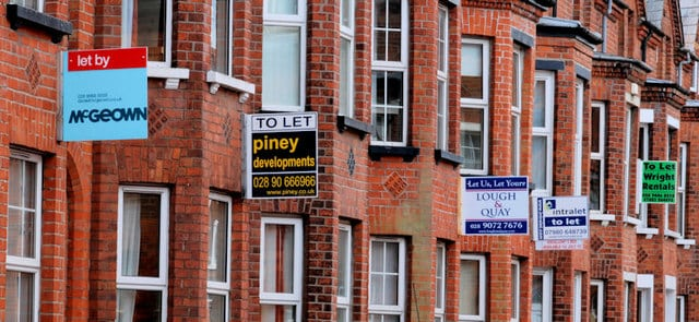 To Let signs, Belfast by Albert Bridge@Geograph