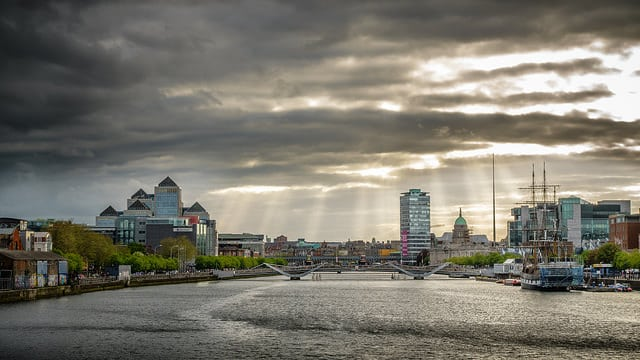 The city of Dublin. Ireland is ranked 1st on the goodcountry.org overall ratings. Photo: Giuseppe Milo @Flickr