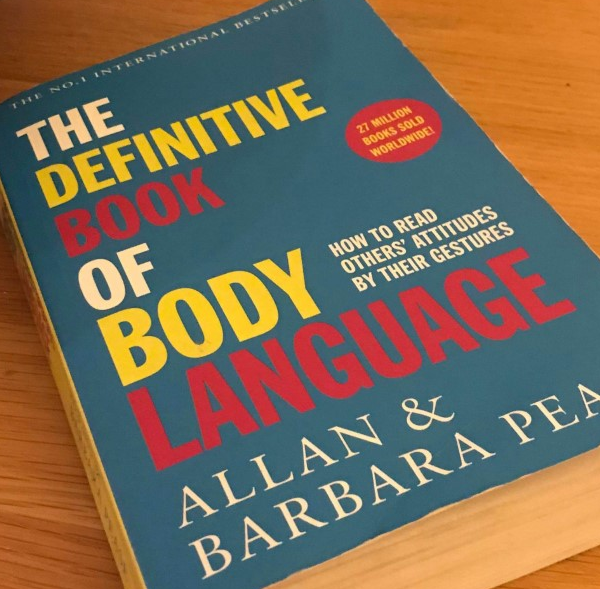 The definite book of body language