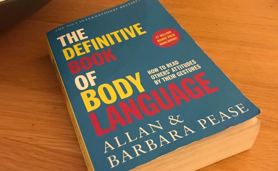 The definite book of body language