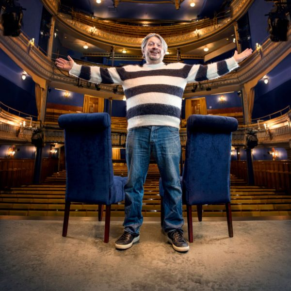 Richard Herring press shot for Manchester Podcast Festival