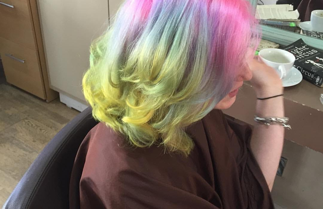 Rainbow hair. Photo: The Mancunion