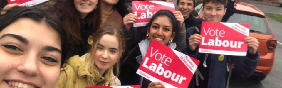 Young labour rebrand and regroup after election