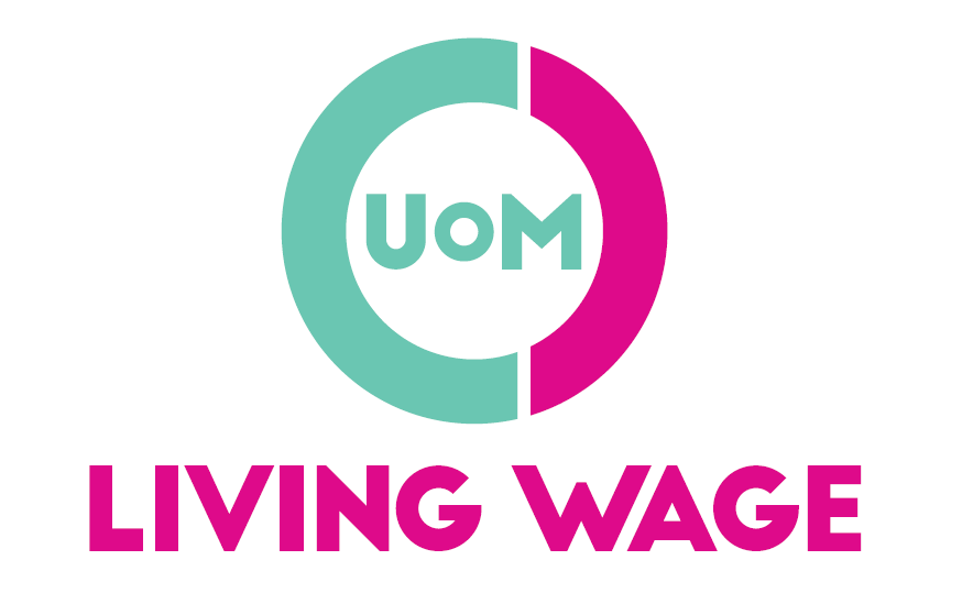 The University of Manchester's Students' Union has become a living wage accredited employer. Photo: Students' union