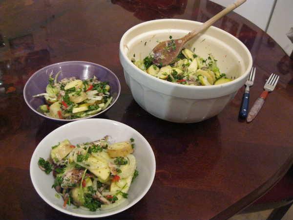 Mackerel Salad