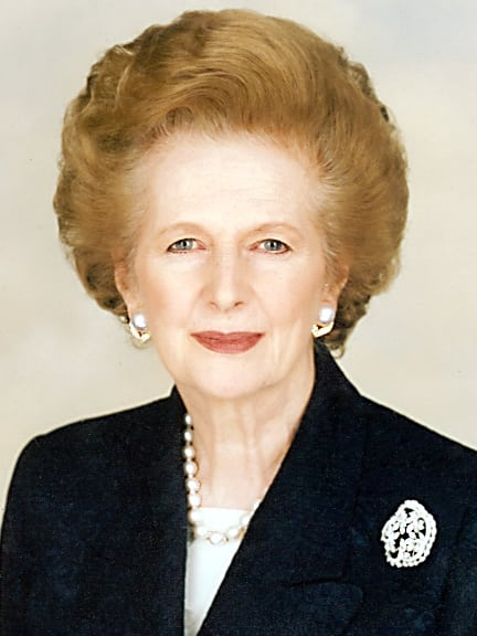 Photo: Margaret Thatcher Foundation @Wikimedia Commons