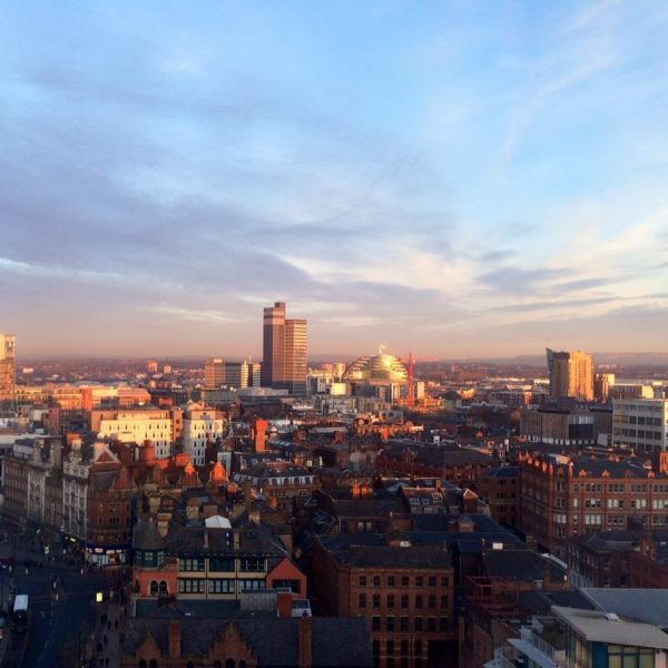 Manchester City Centre, Photo: Stacey McNaught @Flickr