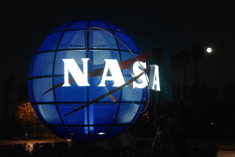 NASA globe logo
