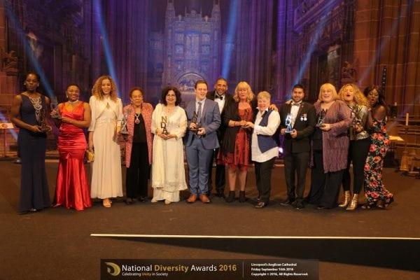 Photo: national diversity awards