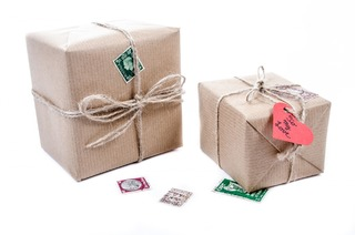 sustainable Christmas wrapping paper