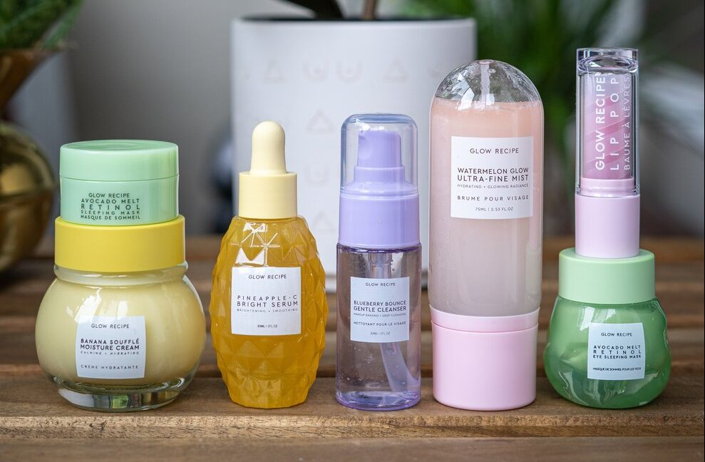 Glow recipe products