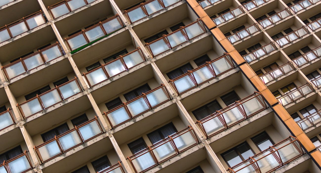 Photo: East European apartment block @ Martin Vorel