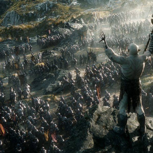 Hordes of computer-generated orcs descend upon the forces of good. Photo: Warner Bros.