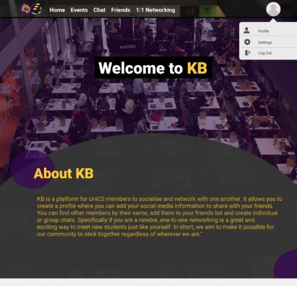 KB home page