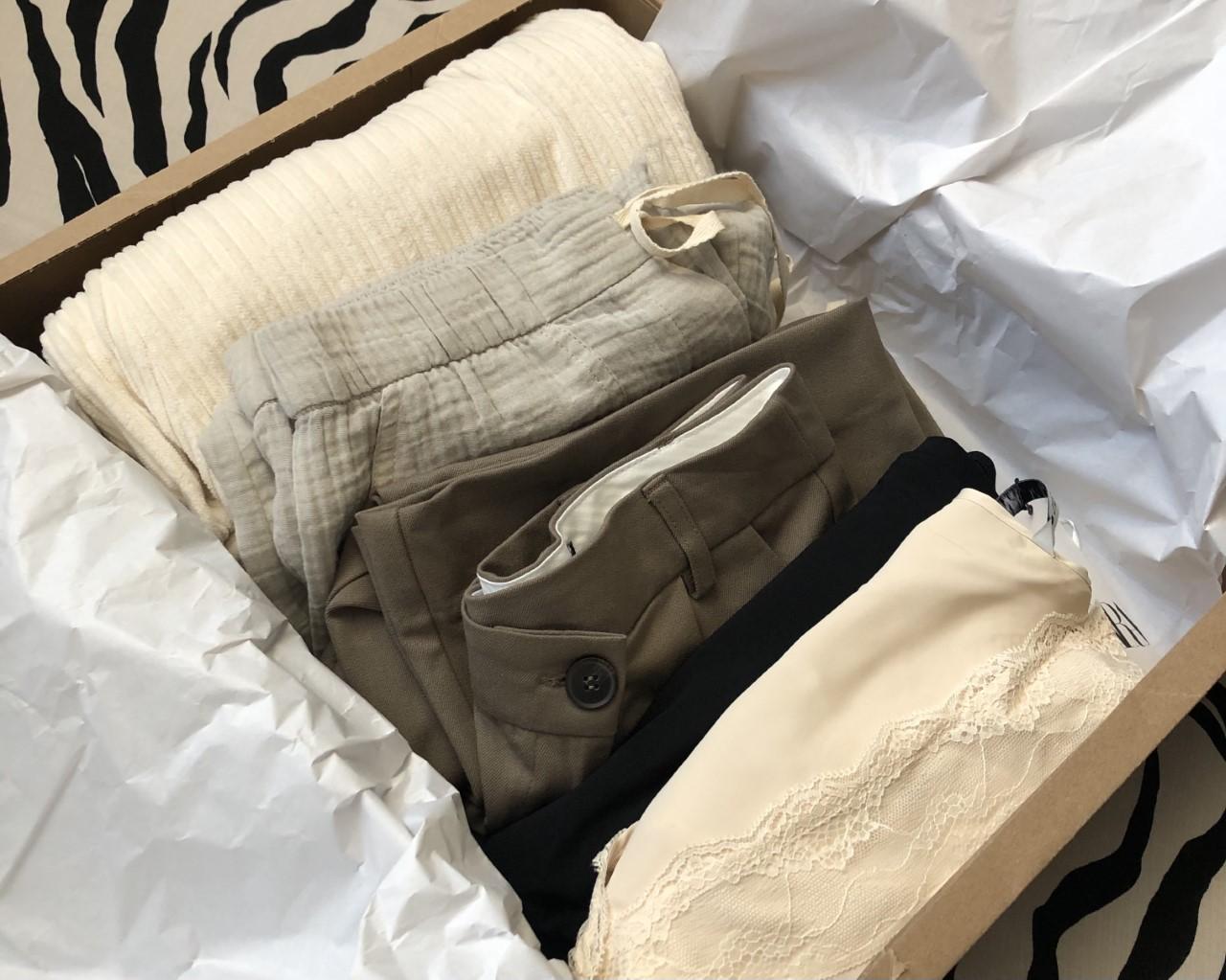 Zara clothing order
